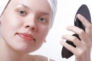 robienie makijażu