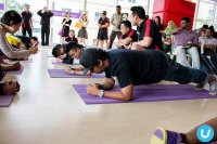 zajęcia fitnessu