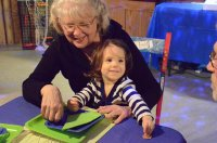 Dziecko z babcią